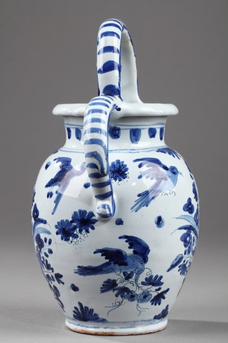 Faience Ewer from Nevers, circa 1650 - 1660 - Porcelain & Faience Style