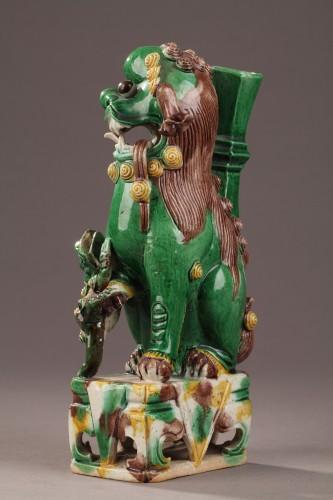 18th century - Pair of Fo dogs, Kangxi (1662 - 1722)