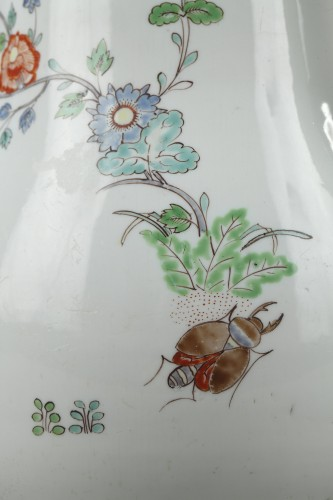 Verseuse en porcelaine tendre de Chantilly 18e siècle -