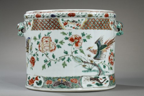 18th century - Chinese wine cooler Kangxi 1662 - 1722