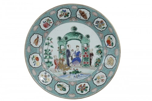 Chinese dish 18th century