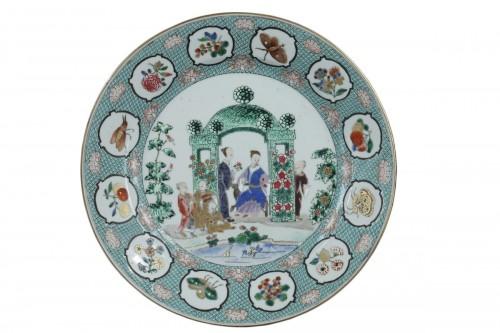 Chinese dish 18th century