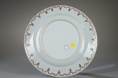 Chinese dish 18th century - Porcelain & Faience Style