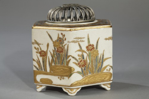 Incense burner, Satsuma, Japan 19th century -