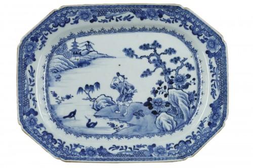 Chinese porcelain dish Qianlong 1736 - 1795