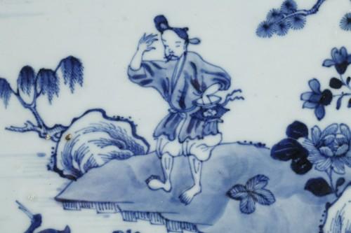 Chinese porcelain dish Qianlong 1736 - 1795 - Porcelain & Faience Style