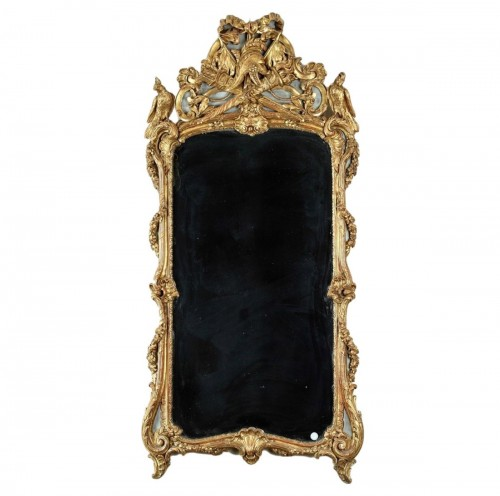 18th century Giltwood Wall Mirror