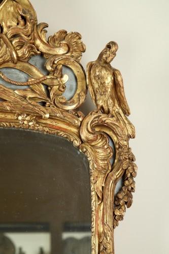 Mirrors, Trumeau  - 18th century Giltwood Wall Mirror