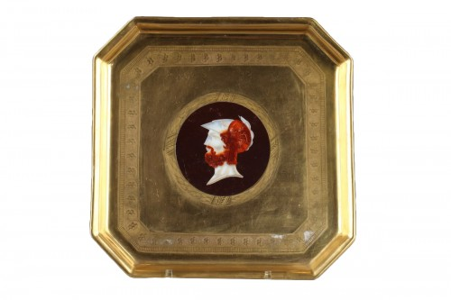 Early 19th century. Dagoty Manufacture, tray