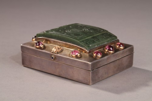 A late 19th  century Russian box -