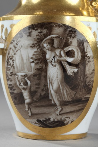 Doccia teaset, begining of 19th century -
