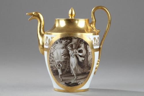 - Doccia teaset, begining of 19th century