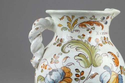 Porcelain & Faience  - Faience jug from Talavera de la Rena Circa 1770 - 1780