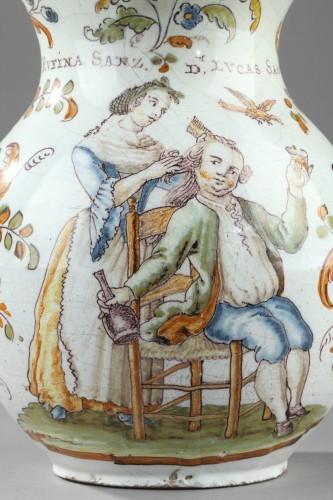 Faience jug from Talavera de la Rena Circa 1770 - 1780 -
