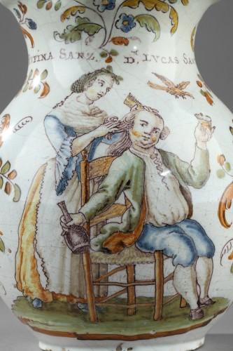 18th century - Faience jug from Talavera de la Rena Circa 1770 - 1780