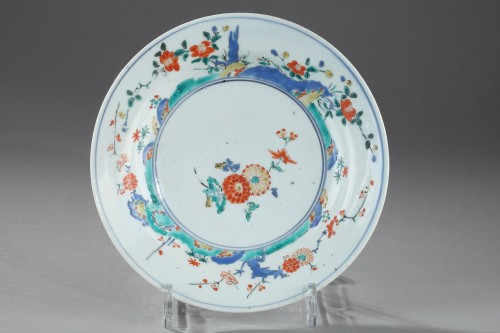 Porcelain & Faience  - Japanese saucer dish, late 17th century