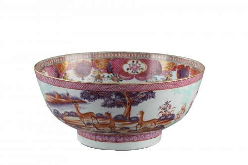CHINA : 18th century, export bowl