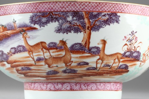 Porcelain & Faience  - CHINA : 18th century, export bowl