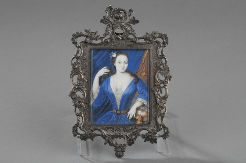 Objects of Vertu  - J Bisson 's miniature 18th century