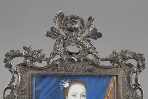 J Bisson 's miniature 18th century -
