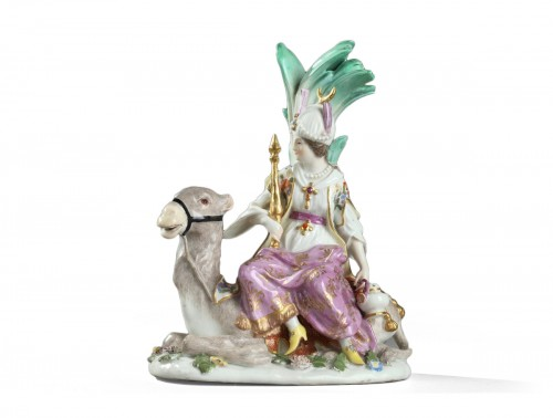Meissen porcelain group circa 1745