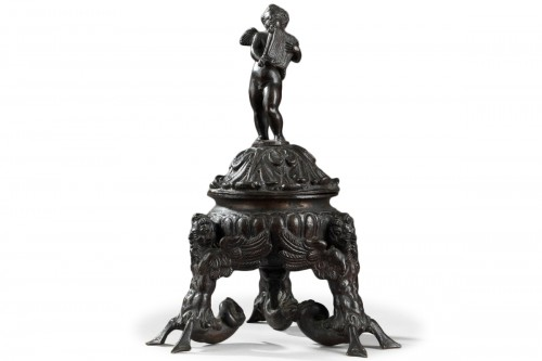Inkwell, Bronze from Venice or Padoa (Italy), 16th century