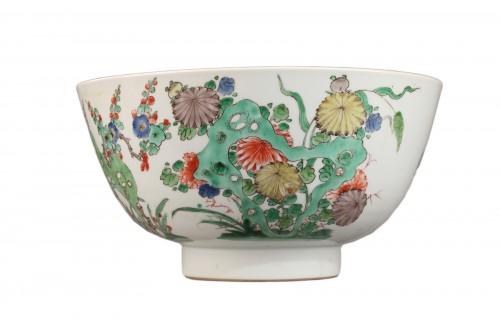 Famille Verte bowl, Kangxi period 1662 - 1722