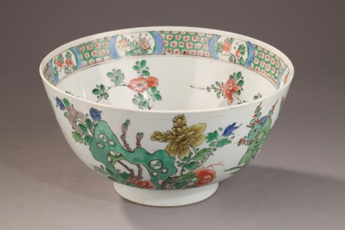 Famille Verte bowl, Kangxi period 1662 - 1722 -