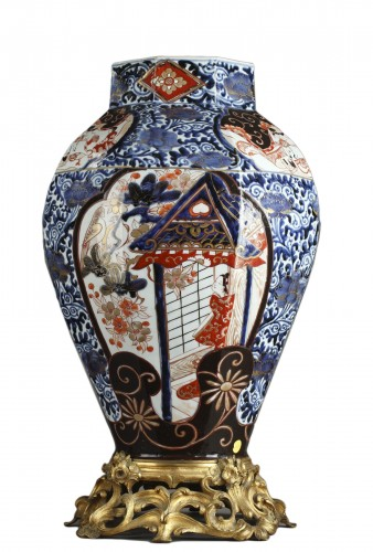 Big japonese jar, Genroku period (1688 - 1704)