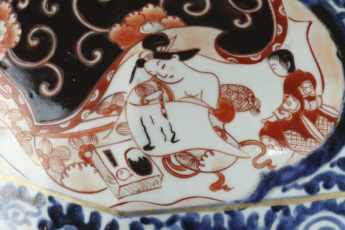 Porcelain & Faience  - Large japanese jar, Genroku period (1688 - 1704)