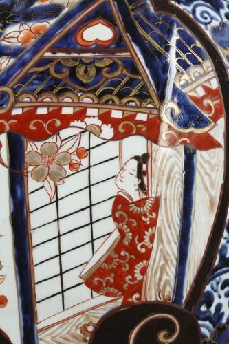 Large japanese jar, Genroku period (1688 - 1704) -