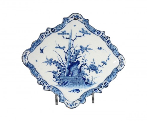 Delft Wall Tile in faïence circa 1730 - 1740