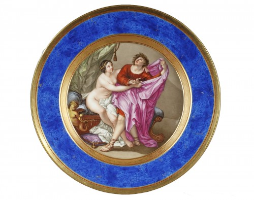 Porcelain plate from Berlin manufactory, beginning of 19th century