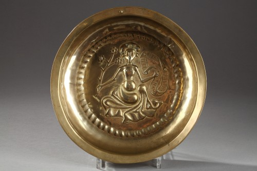 Religious Antiques  - Brass container, second half of 15th century