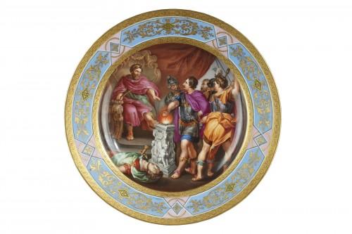 Viennese plate circa 1843