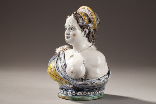 - Faience Bust from Deruta, early 17th century