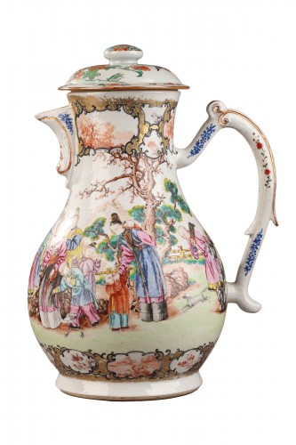 Very large ewer Exportware China Qianlong period 1736 - 1795