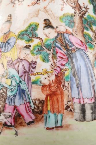 Very large ewer Exportware China Qianlong period 1736 - 1795 -