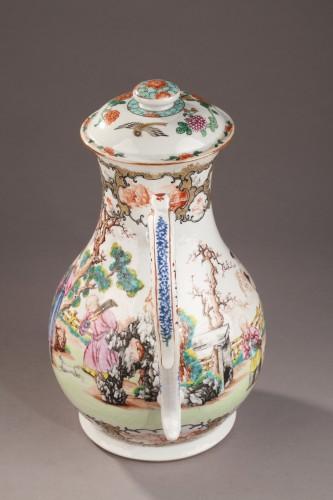 Antiquités - Very large ewer Exportware China Qianlong period 1736 - 1795