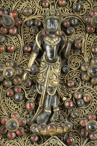Asian Art & Antiques  - Votive Plaque, Nepal 19th century