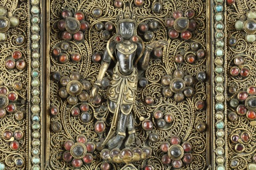 Votive Plaque, Nepal 19th century -