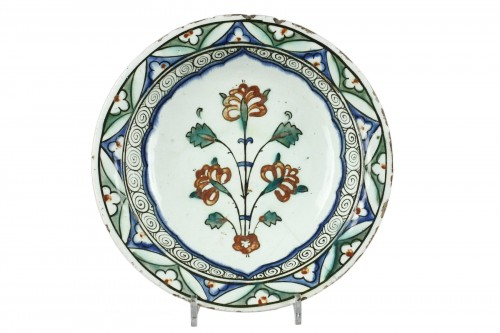 Early 17th century Isnik (Anatolie, Turkey) dish