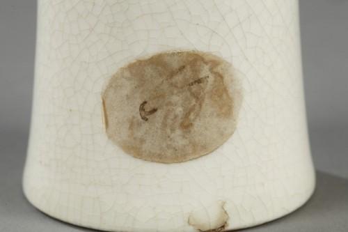 Porcelain & Faience  - Soft paste vase, China, 18th century
