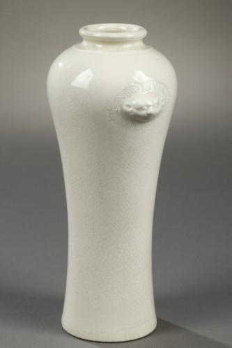 Soft paste vase, China, 18th century -
