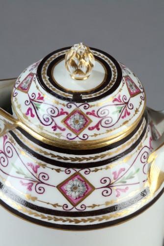 Porcelain & Faience  - Early 19th century porcelain milk jug, Vienna