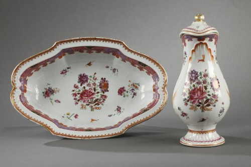 18th century ewer, chinese porcelain - Porcelain & Faience Style
