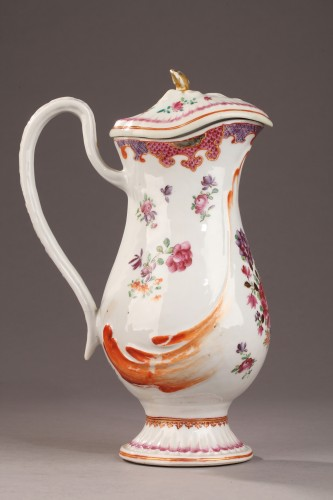 Antiquités - 18th century ewer, chinese porcelain