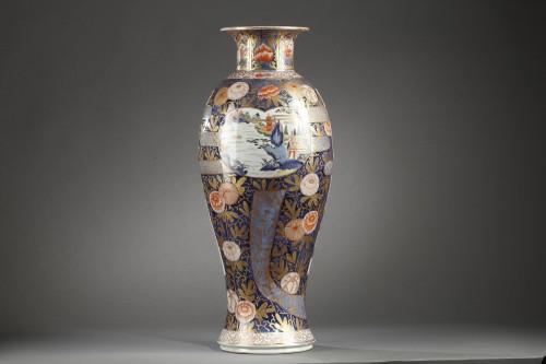 Antiquités - Large Japanese porcelain vase Second half of 17th century