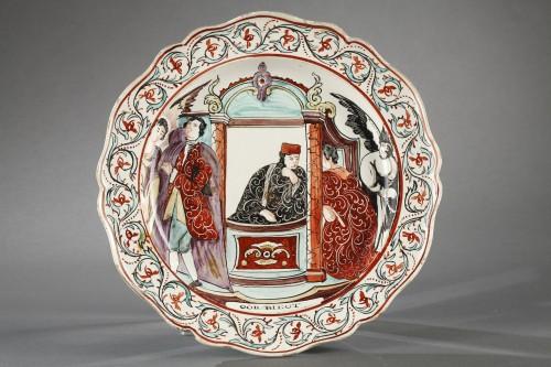 18th century - Delft Creamware plates, late 18th century