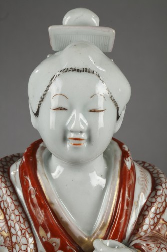 Asian Art & Antiques  - Japanese Bijin Genroku Period 1688 - 1704